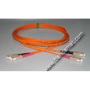 Patchcord Duplex MM 62,5 SC-SC